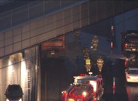 PA Turnpike Truck Fire
