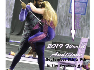 Brigadiers Winterguard 2019 Audition Dates set for Sept. 8 & 9, 2018.
