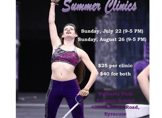 Summer Spin & Dance Clinic Registration Form