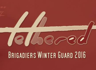 Brigadiers Winterguard performs in Independent Open Finals at WGI