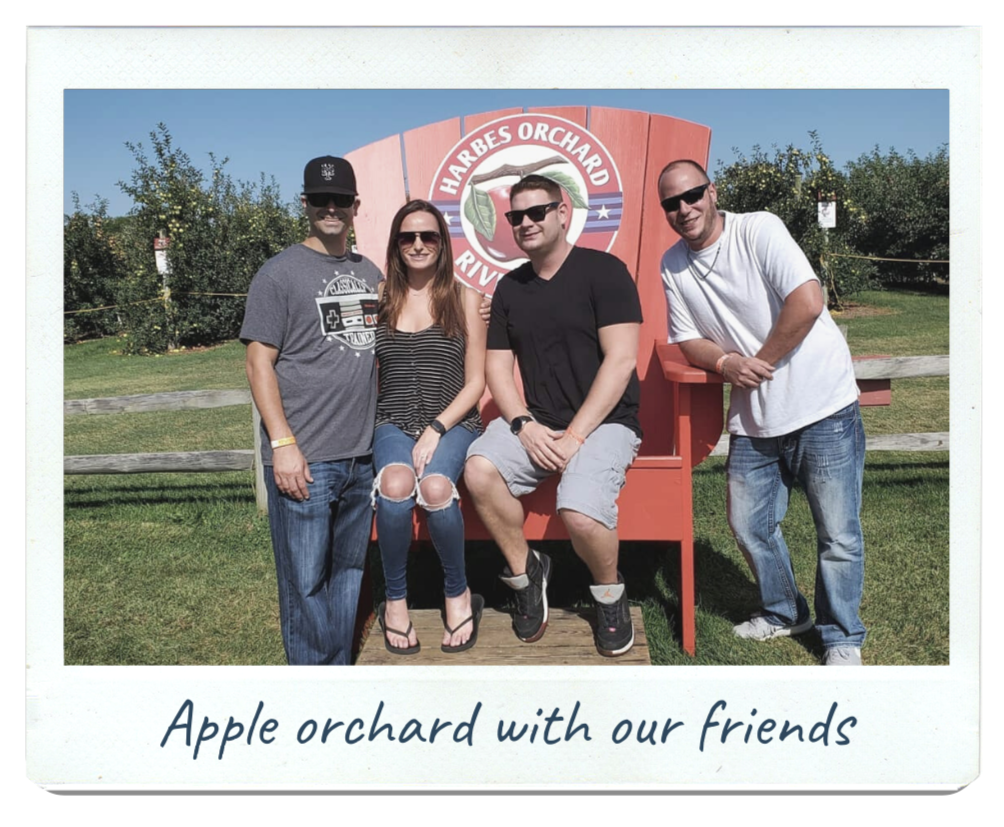 Justin Joey hoping to adopt - apple picking friends