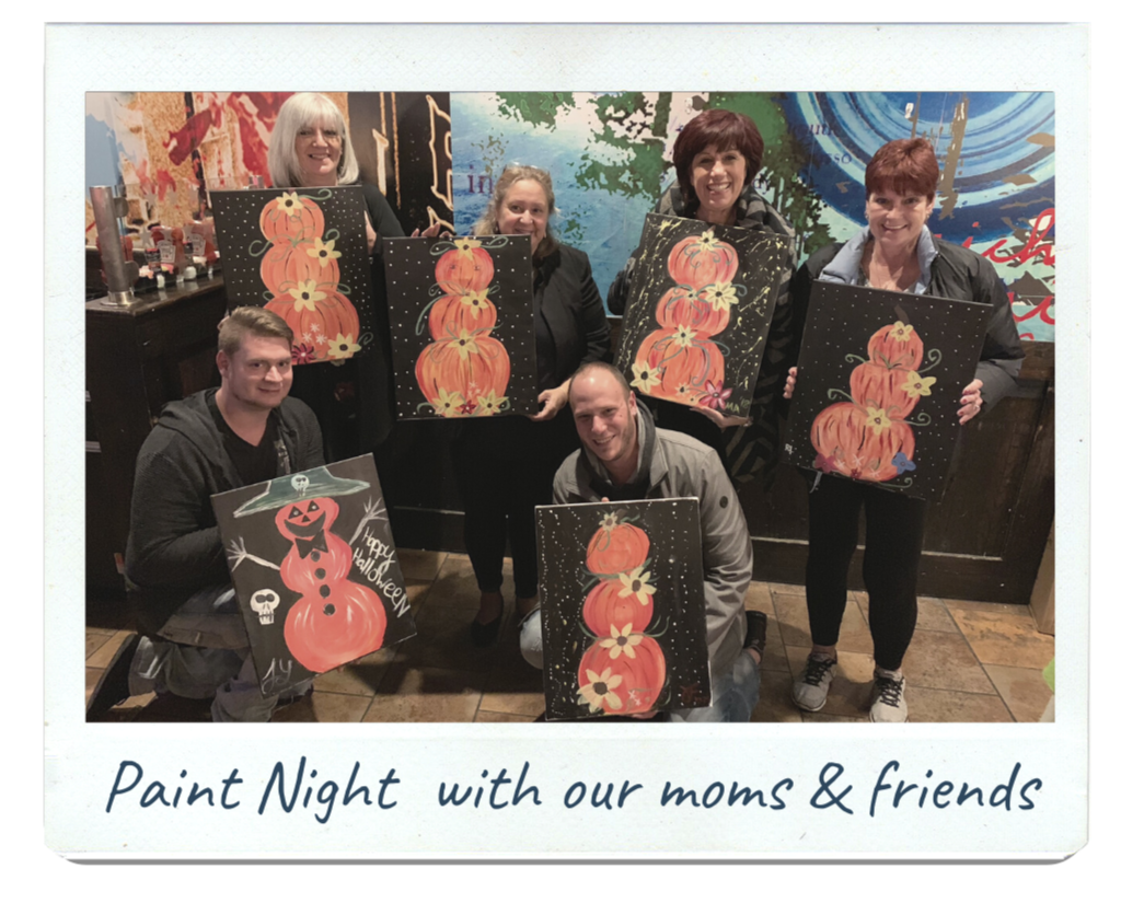 Justin Joey hoping to adopt - paint night