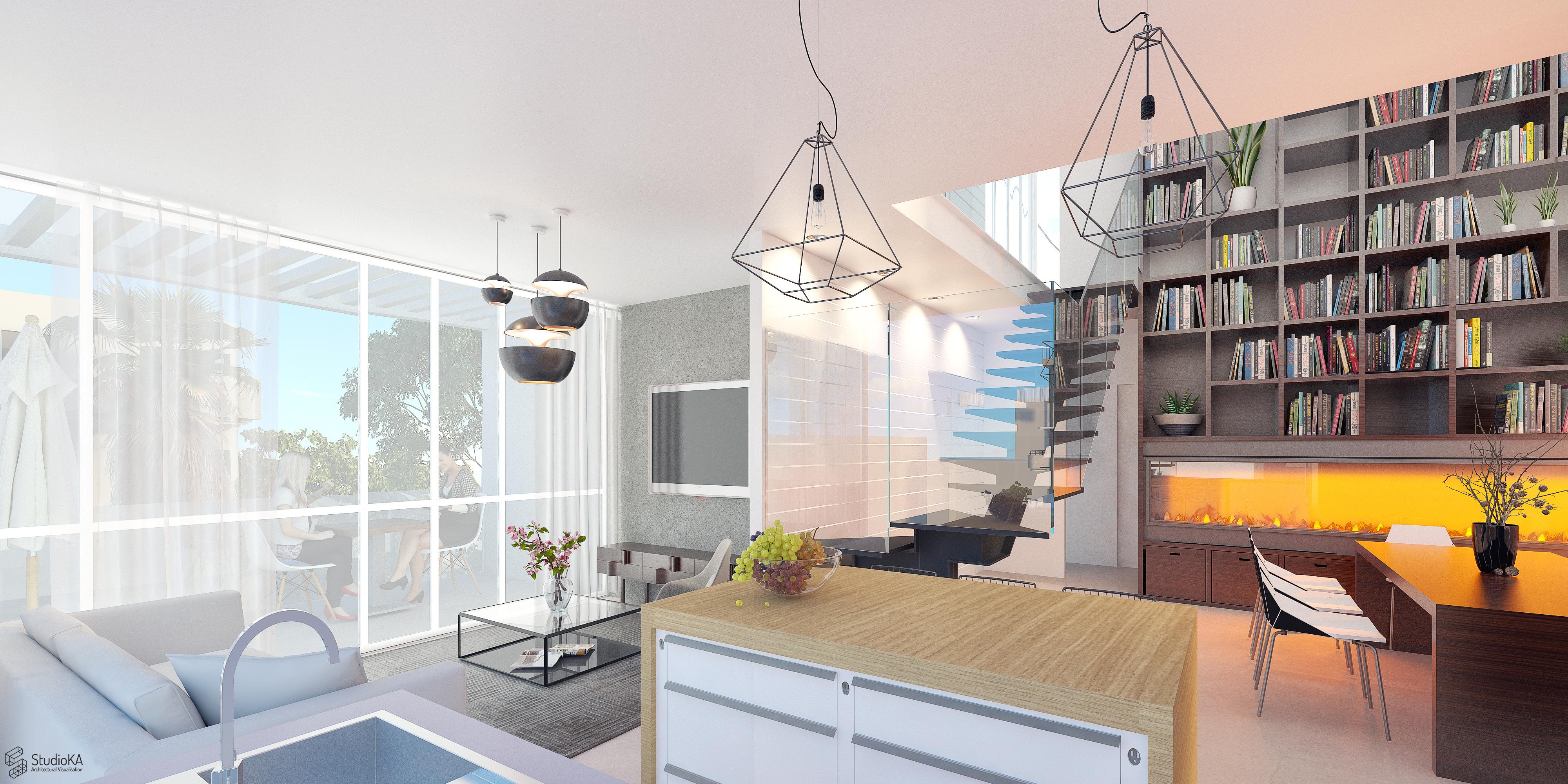Hashmonaim 60 Tel Aviv - penthouse 6