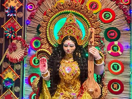 Happy Saraswati puja