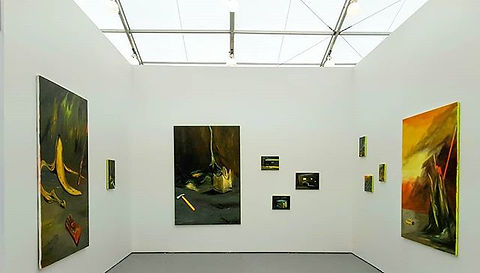 one month ago _galeriedix9_#contemporary