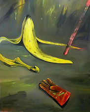 How are you Banana_oiloncanvas_195x130cm
