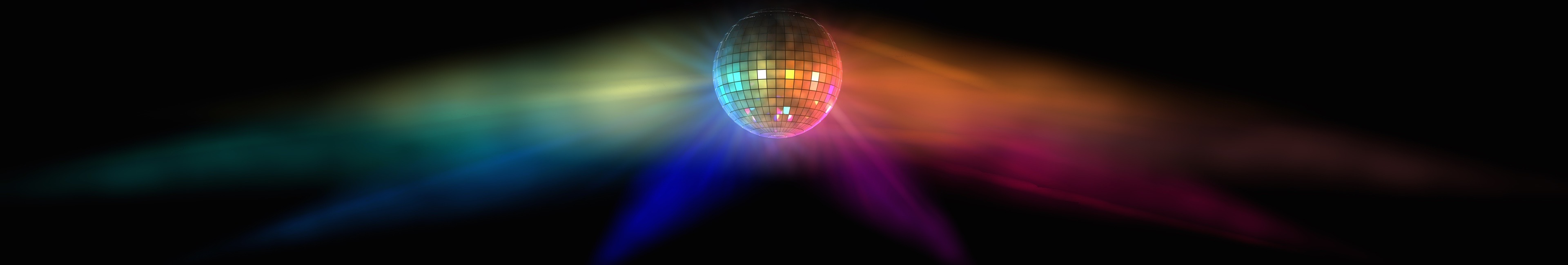 DJ and Disco Packages available with stunning Mirror Balls, Glitter Balls and Mood Lighting to Hire.