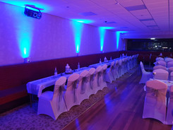 Uplighting Hire North East & Cumbria Moodlighting