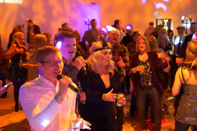 Themed Karaoke Party at Redworth Hall with a DJ Playing Great Music. Hire a Package today and check out some Extras!