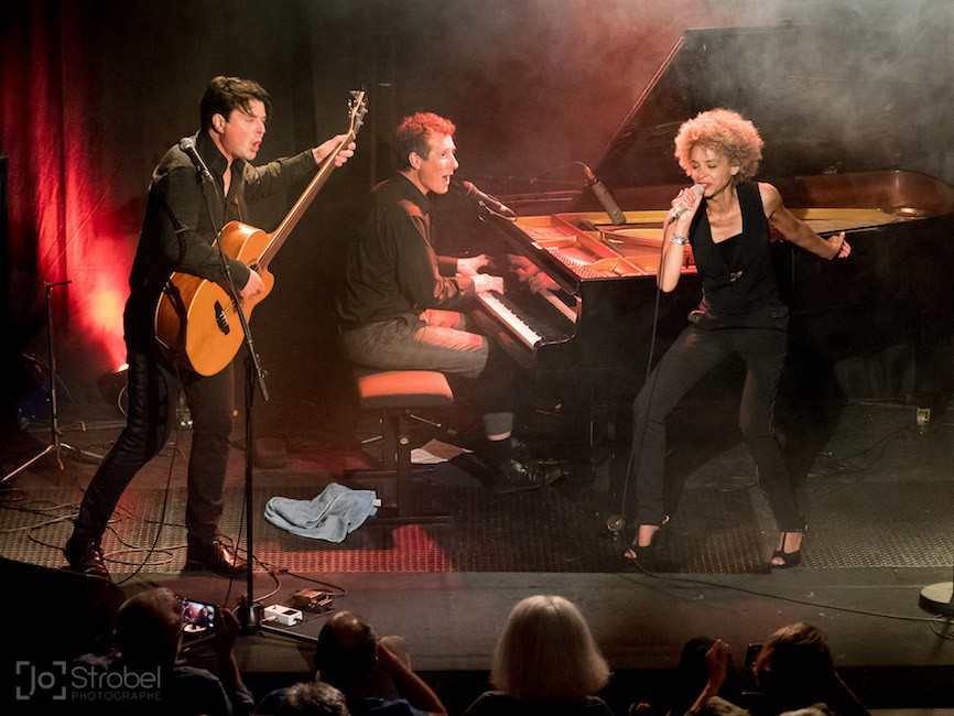 Jazz Festival, La Garde Sophie Thiam, David Henry, Richard Puaud,  © Jochen Strobel