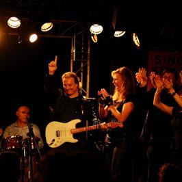 New morning concert  La Bande à Madame Guitar : Philippe Hervouet. coach : Sophie Thiam Piano and vocal coach :  Franck Sitbon Produit par Jacques Quinson © Frédéric Andrieu