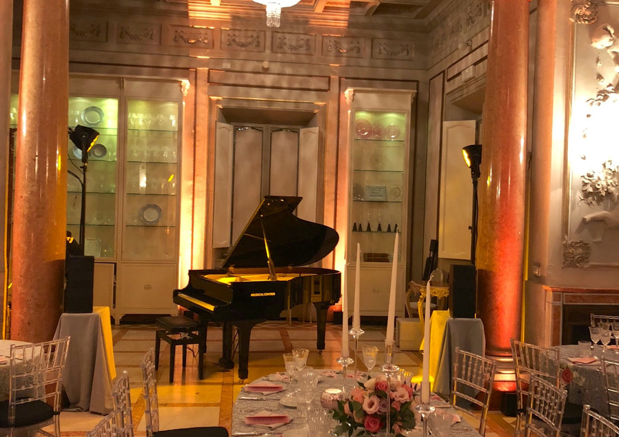So&So Duo Private diner Villa Laetitia (Roma, Italy) Ici la terre Agency Sophie Thiam  David Henry