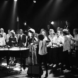 New morning concert La Bande à Madame (chorale) and guests coach : Sophie Thiam Piano and coach :  Franck Sitbon Produit par Jacques Quinson © Frédéric Andrieu