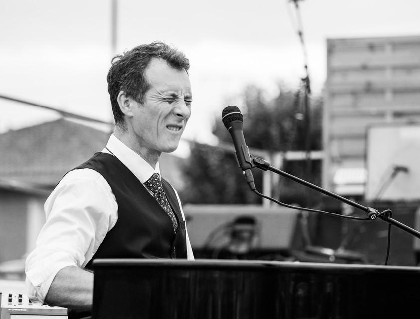 "Festival ""Neuville en jazz"". David Henry. © Jochen Strobel"