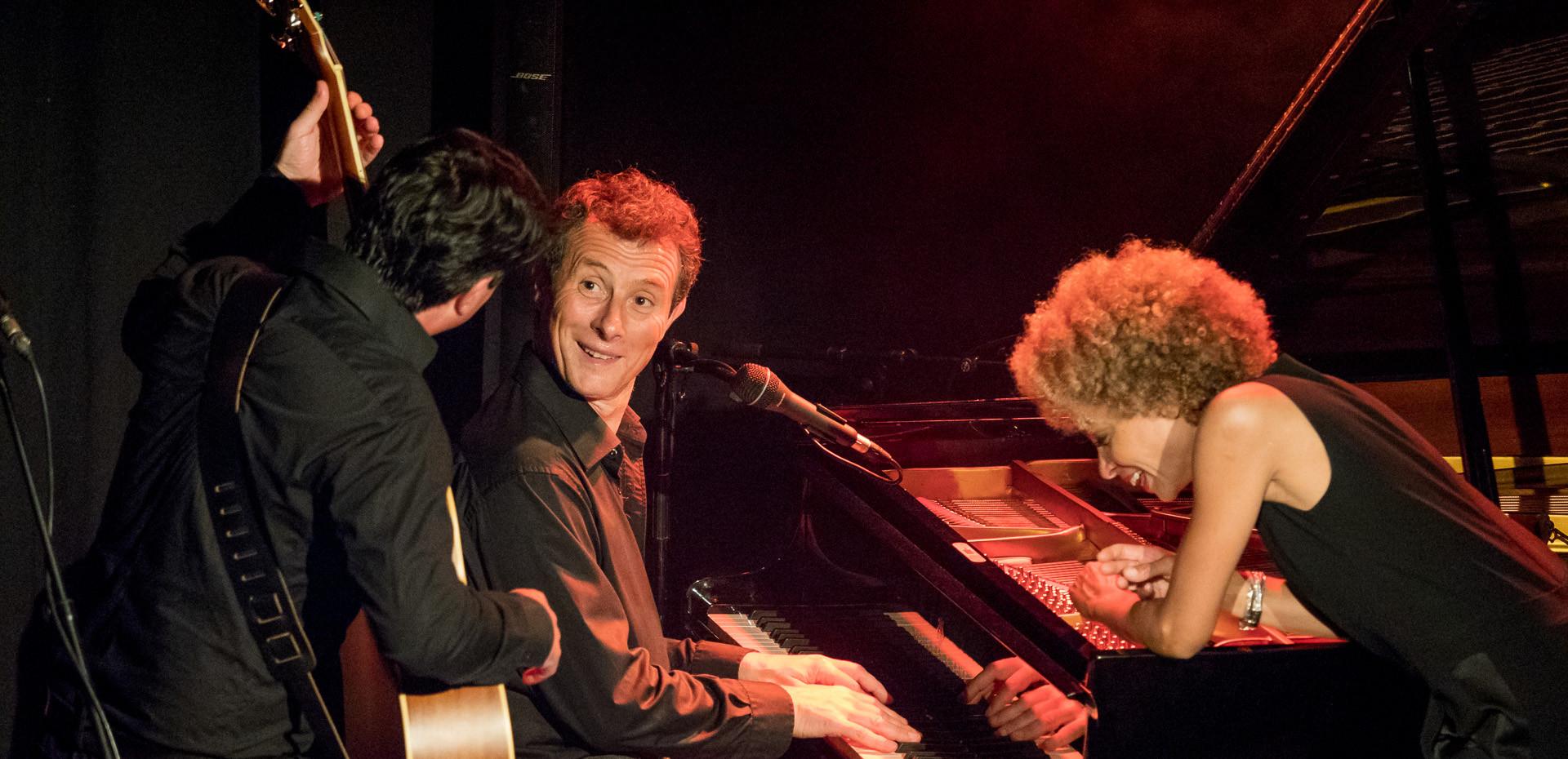 "Festival ""le jazz bat la campagne"", Partenay. Sophie Thiam, David Henry, Richard Puaud © Jochen Strobel"