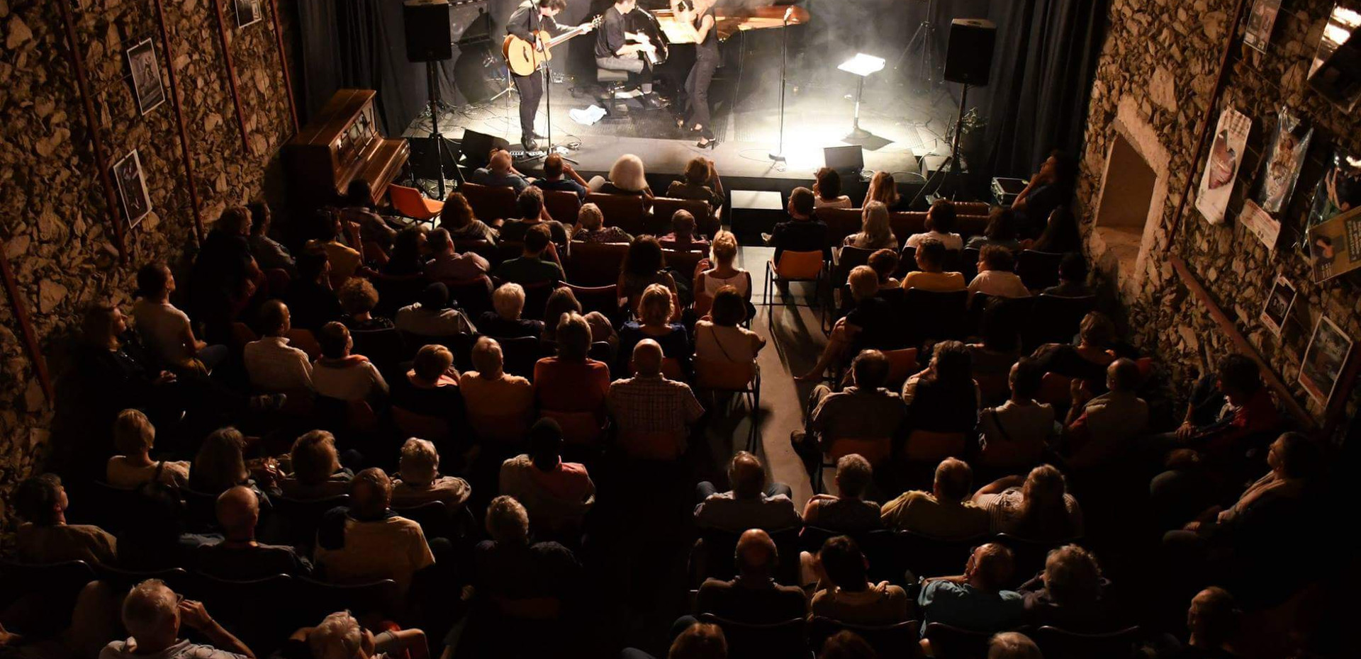 Jazz Festival, La Garde. Sophie Thiam, David Henry, Richard Puaud,  © Jochen Strobel