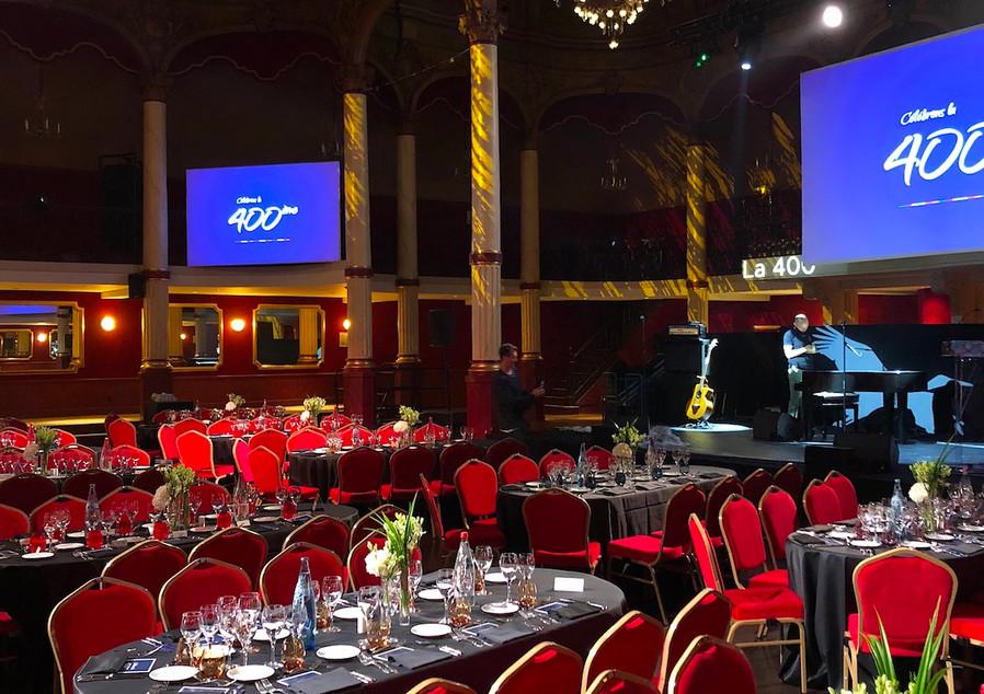 So&So Trio Private Event (anniversary) Pavillon Haussman (Paris) Diner Room Ici la terre Agency