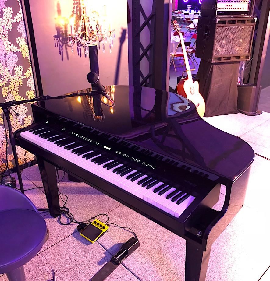 So&So Trio Private party Piano quart de queue Champagne Perrier Jouet (Reims) Nicolas Garrier agency