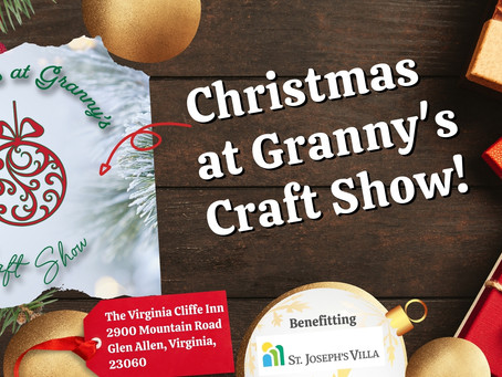 You are cordially invited to our Christmas at Granny's Craft Show!