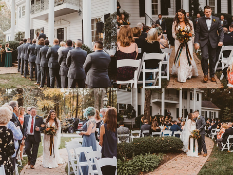 Fall Weddings at Virginia Cliffe Inn!