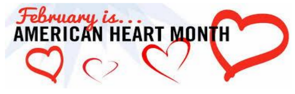 February is known for the month of love and also it is known as Heart Health Month.