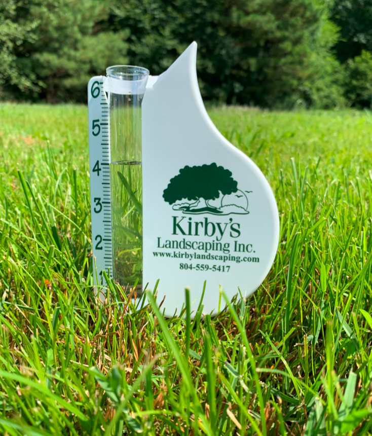 Landscaping offers rain gauges to assist in appropriate watering!
