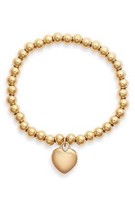 Heart Charm Bracelet   More Colors Available