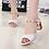 Thumbnail: LAKESHI Peep Toe High Heel