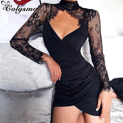 Colysmo Floral Lace mini dress