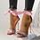Thumbnail: Sexy Open Toe Bowknot High Heel