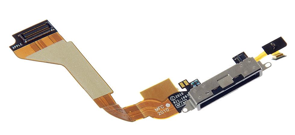 Шлейф разъём зарядки iPhone 4