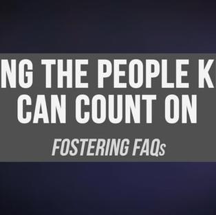 Fostering FAQ Video (7 min)
