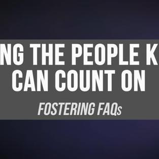 Fostering FAQ Video (13 min)