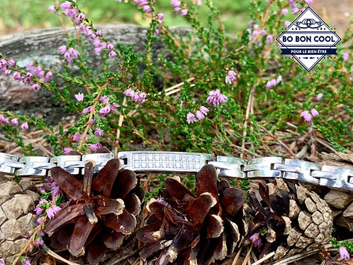 Bracelet énergétique Charme BBC054 Argenté