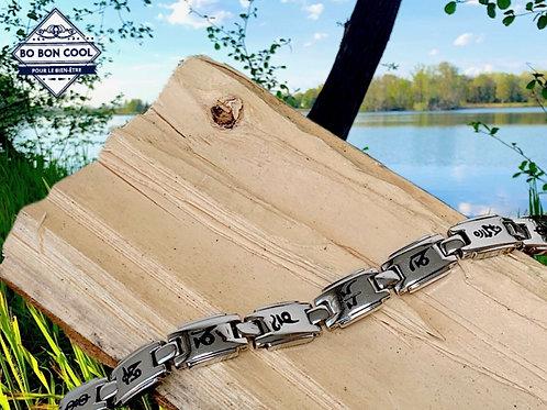Bracelet magnétique en Acier BBC032