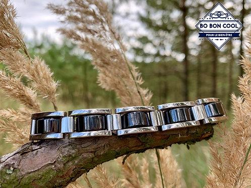 BBC035 Magnetisches Armband mit Hämatit