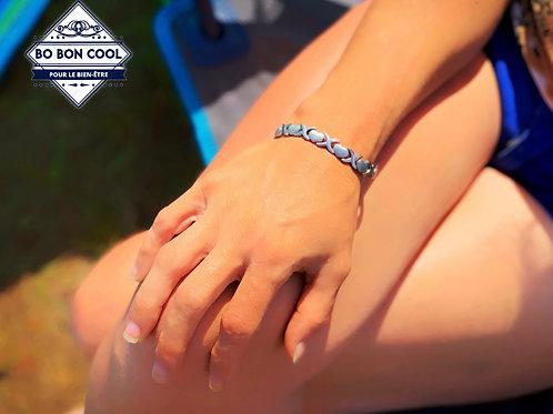 BBC010 Bracelet Magnétique forme de Coeur