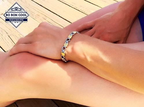 BBC025 Bracelet Energétique en forme de Coeur