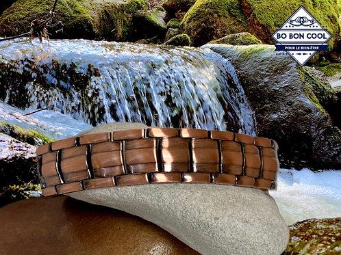 BBC083 Bracelet Magnétique en Cuivre