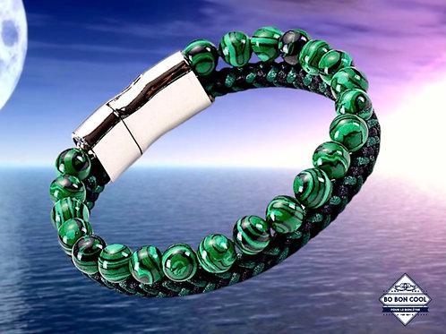 BBC-P 015-3 Malachit-Armband