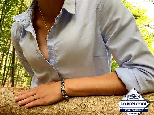 BBC028 Bracelet Magnétique mode Cristal