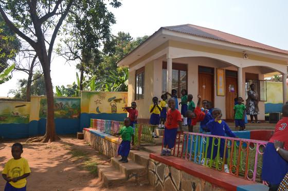 Visiting local schools!