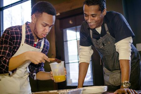 Jeremiah with Chef Chris Scott - Butterfunk,  Brooklyn, New York