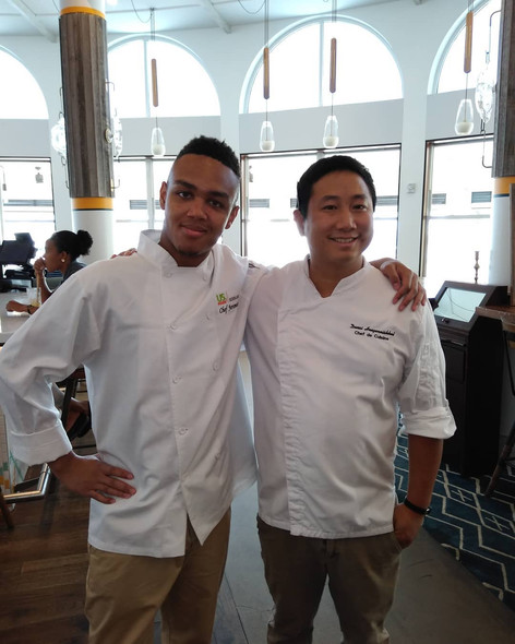 Jeremiah with Chef Dani Hongwanishkul