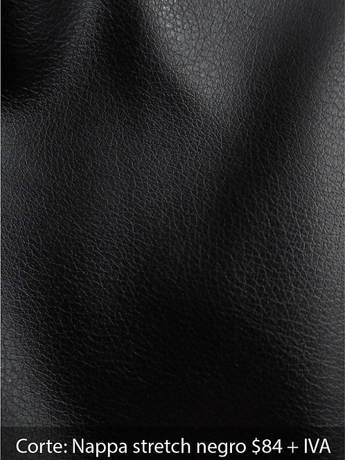 Nappa stretch negra