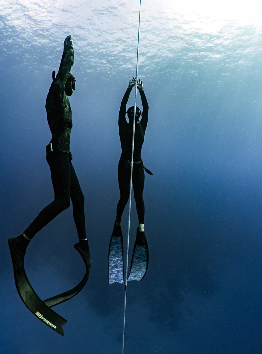 level 1 freediving course taught by experienced instructors