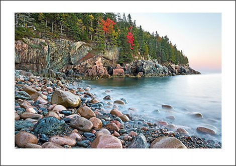 The Rocks and the Water #1 - Maine, USA