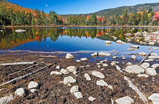 Moonrise #1 - White Mountain, New Hampshire, USA