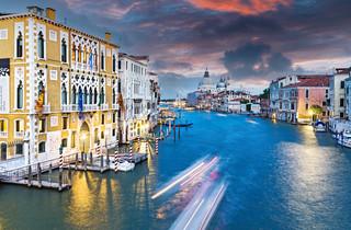 Main Street Sunset - Venice, Italy