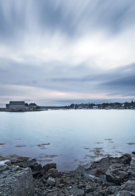 Last Light - Bass Harbor, Maine, USA